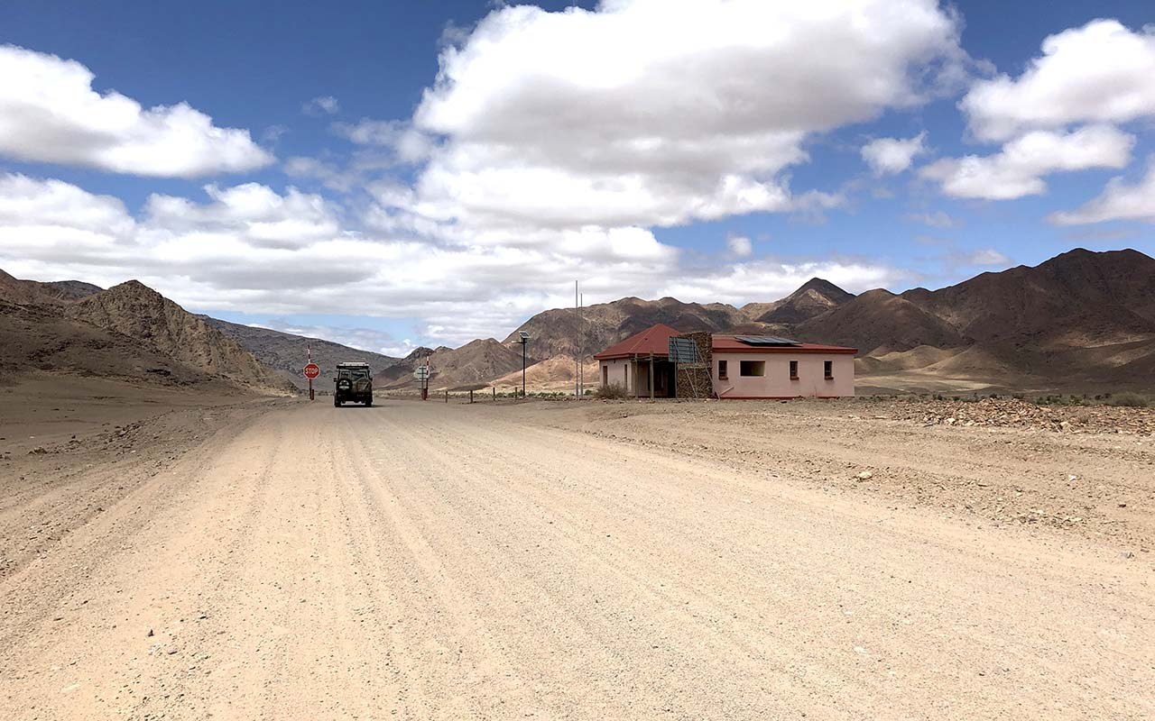 Check-point in the Namibian Richtersveld